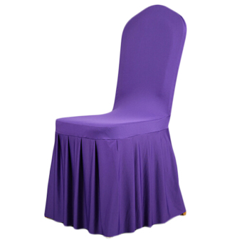 Skirt Stretch Hotels restaurant Wedding chair cover Banquet chair covers