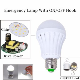 LED Bohlam - Lampu LED Emergency 12 Watt - 1 Pcs