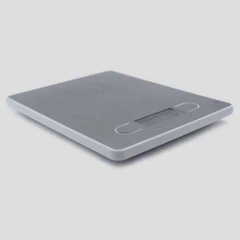 3 unit 5 kg/1 G layar LCD Digital timbangan makanan alat berat dapur perak