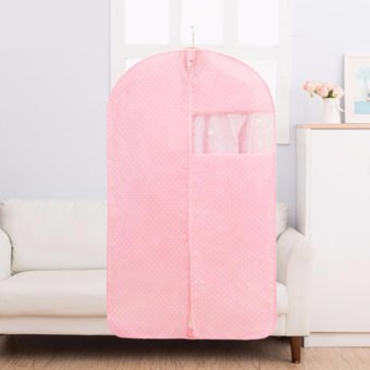 Dust Cover for Clothes(60CM x 100CM, Pink) - intl