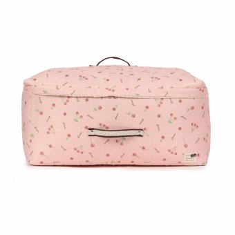 41*27*21cm High Grade Underwear Socks Storage Bags Packing Travel Clothes Organizer Bag Cherry Pink - intl