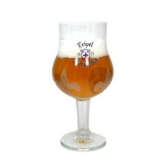 Tripel Karmeliet Belgian Beer Chalice Glass - intl