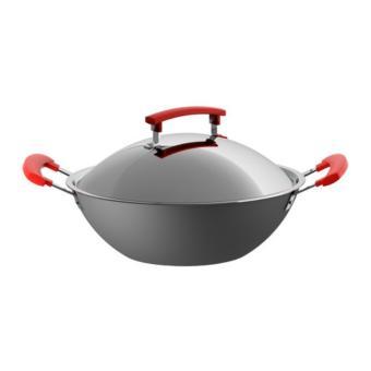 NEW - Ikea Identisk ~ Wajan / Kuali Abu2 Dgn Penutup Stainless Steel 32Cm