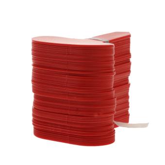 BolehDeals 100 buah label penanda tanaman jenis T bisa dipakai ulang untuk taman -merah - Internasional
