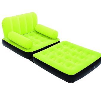 Harga Bestway Inflatable 2 in 1 Single Sofa Bed (Hijau) Kasur Ranjang Sofa Angin