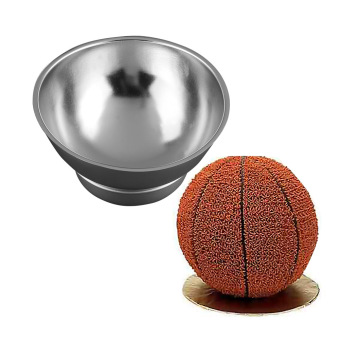3D Sport Half Ball Sphere Cake Pan Baking Mold Bakeware Tin Kitchen Mould Tool A - intl