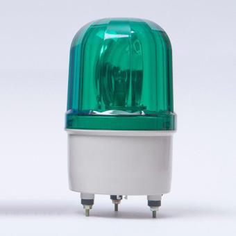 6-inch 12V Revolving Warning Light Rotating Warning Light (Green) - intl