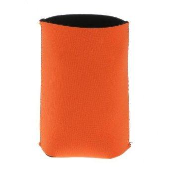 BolehDeals 1x Neoprene Cooling Beer Drinks Bottle Tin Can Cooler Sleeve Holder Orange - intl