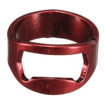 Stainless Steel jari cincin pembuka botol bir anggur pesta Bar dapur alat tangan Internasional