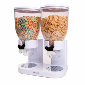 Zevro Korea Indispensable SmartSpace Double Dry-Food Dispenser - intl