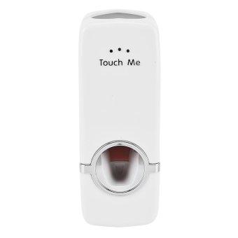 Harga Unik Dispenser Odol Tempat Sikat Gigi - Putih