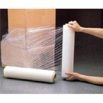 Plastik Wrapping/Stretch Film Roll (Lebar 50 cm, Gulungan 200m)