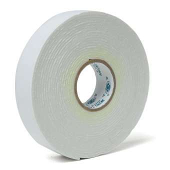 5m White Double Sided Strong Sticky Self Adhesive Foam Tape Mounting Fixing Pad - Intl