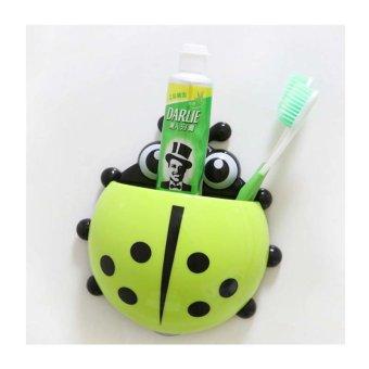Harga StarHome Tempat Gantungan Sikat Gigi Odol - Kumbang - Kuning
