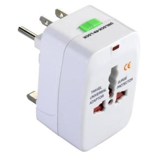Harga Universal Travel Adaptor All in One - Steker Colokan Listrik - Putih