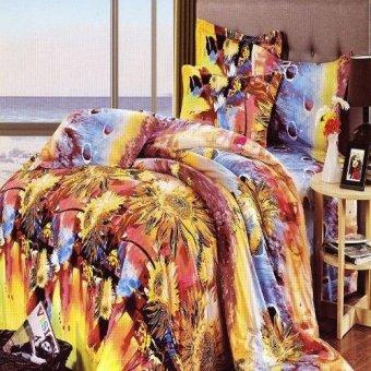 Depo Sprei Sun Multicolor Sateen Jepang King Size