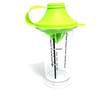 gelas Multi Mixbecher Mixing Cup 300ml Gelas Takar / Ukur - Green
