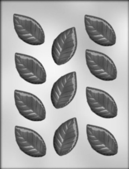 CK Products 6cm Rose Leaves Chocolate Mould - intl