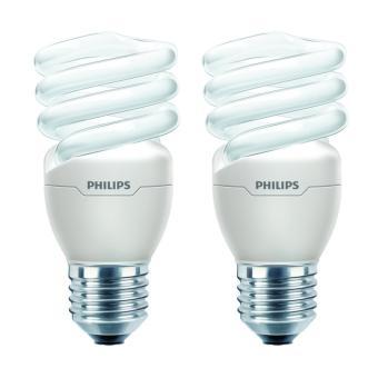 Philips Lampu Tornado 15W CDL E27 220-240V (2 Pcs)