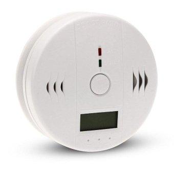 PLATIM Home Safety CO Carbon Monoxide Poisoning Smoke Sensor Warning Alarm Detector