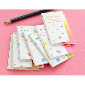 Cute Rainbow Mini Sticker Post It Bookmark Marker Flags Index Tab Sticky Notes - intl