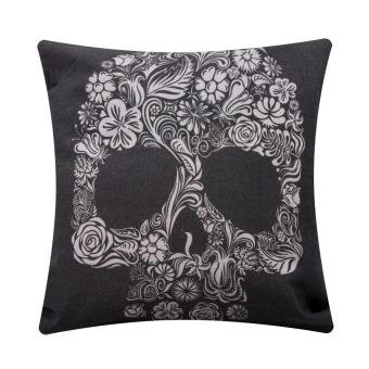 Simple Fashion Linen Throw Pillow Cases Home Decor Cushion Cover Square C
