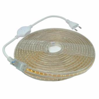 Led Strip Putih SMD 3014 Dengan Kontroller EU Plug 220V 5M - White