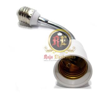 Holder Connector Extender Pemanjang Bohlam Ulir Lampu E27 15cm