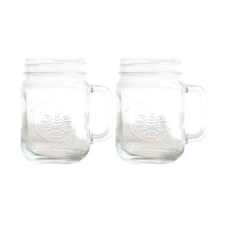 Harga Harvest Set Mug Jar - 450mL - 2 Buah