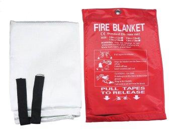 telimei Emergency Survival Fiberglasses Fire Blacket 59 X 59 Inch