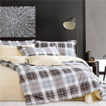 The bedspreads, cotton pure cotton 4 piece cotton warm rounded bed linens, pillow covers, be - intl