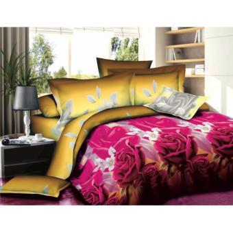 Cape Bedding - Seprai Nyenyak - Golden Flowers - King - 4B - T30