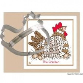 Ann Clark Chicken Tin Cookie Cutter - intl