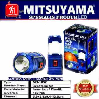 Lampu Tenda Lentera Tarik Mini Camping Super Bright 3 Watt Nyala Terang