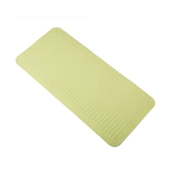 360DSC High Quality Large Non-slip Massage Bath Strip Mat Pad Bathroom Mat with Suction Cup (35*75CM) - Green