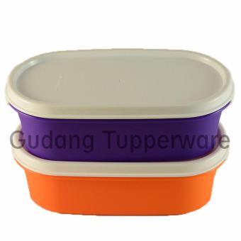 Tupperware Midi Treasure Set (B) - 2 pcs Ungu Orange