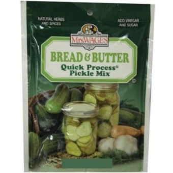 Mrs. Wages® Quick Process Bread & Butter Pickle Mix 160ml - intl