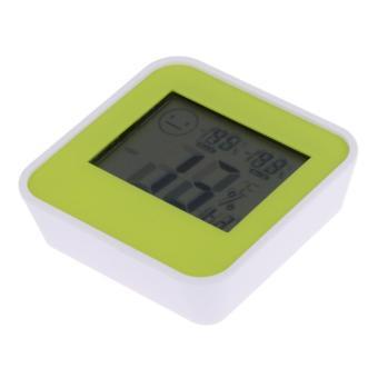 Mini Digital LCD Indoor Bath Kitchen Thermometer Hygrometer Home Humidity - intl