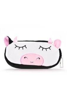 Cute Pencil Case Soft Plush - intl