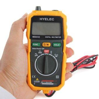 HYELEC MS8232 non-kontak mini Multimeter Digital AC DC tegangan penguji Saat Ini!