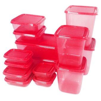 Harga Calista Otaru Sealware Set 7G Premium – 14 Buah – Merah Murah
