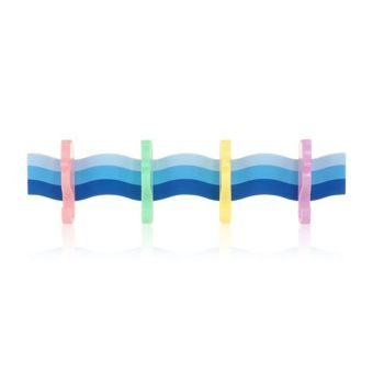 HKS Sea Horse Shaped Quad Hook Board with Suction Cup