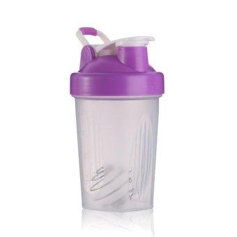 Harga BUYINCOINS 400ml Shaker Cup BPA Free Shake Blender Mixer Drink Bottle With Mixer Ball(