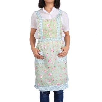 Chelf Waitress Apron Derss With Pockets (4#) - intl