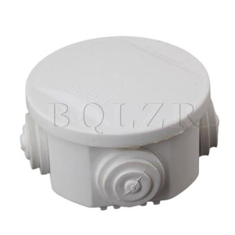 50x50mm IP55 Round Weatherproof Junction Box White - Intl
