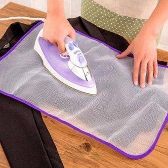 ... MENGEMUDI BOLA Best Quality Product Deals Source · Harga Tahan setrika kain pelindung isolasi Pad alas setrika rumah jala putih 40 cm x