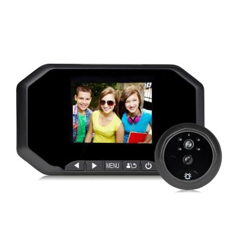 Danmini YB-30AHD-M 3.0inch Color Screen No Disturb Peephole Viewer(Black) - intl