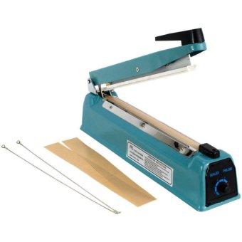Q2 Impulse sealer PFS- 200 Alat Press Plastik 20 CM - Biru. >>>>