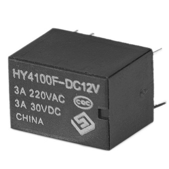 Ten pcs Mini Electronic Power Relay DC12V