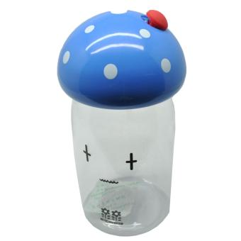 Botol Minum Jamur Emotion Unbreakable Bottle 350ml - SM-8390 - Blue